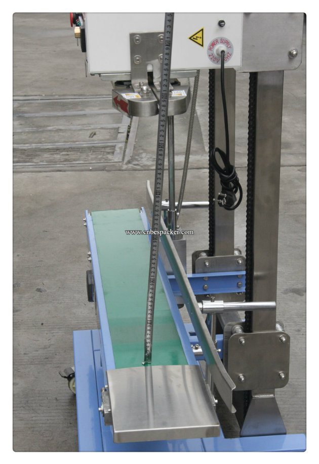 Automatic Continuous Band Sealing Bag Machine