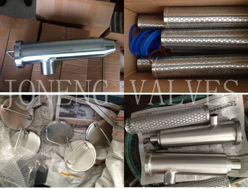 Stainless Steel Welded Y Type Sanitary Filter Strainer (JN-ST3003)