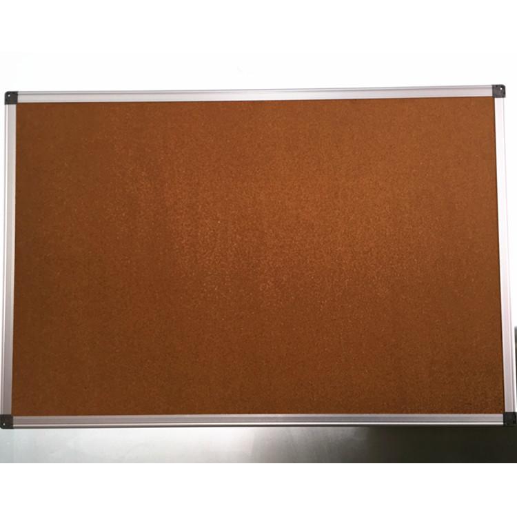 Aluminum Frame Magnetic Cork Board Notice Board