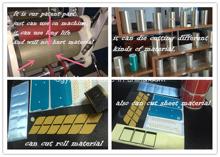 Screen Protector Poll Cylinder Die Cutting Press Machine