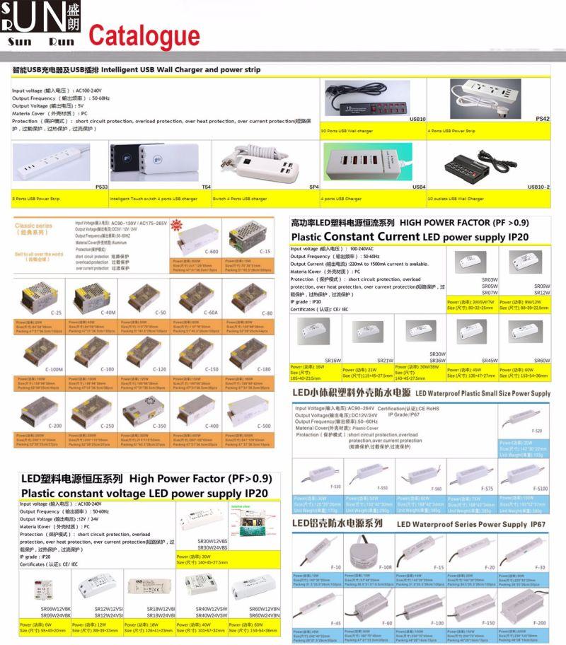 500mA 16W LED Power with 24V-32V Output, for COB LED Constant Current 500mA LED, LED Power Supply