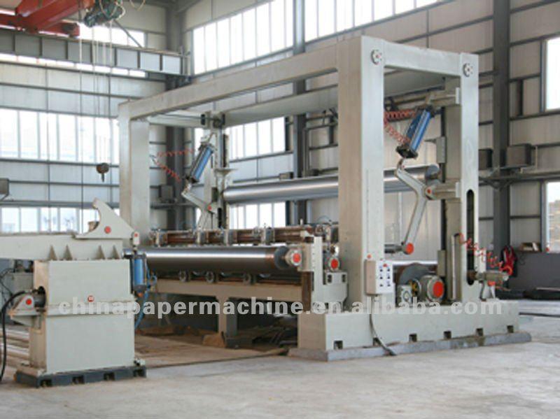 Rewinder Machine For Paper Mill