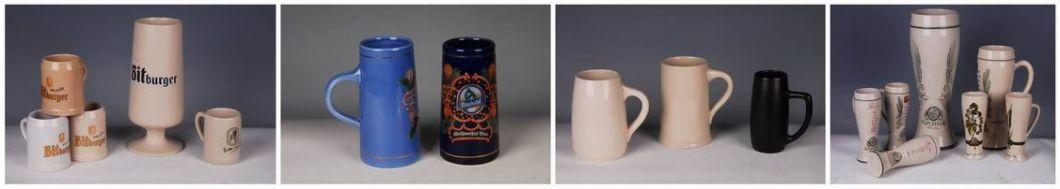 300ml Customized Pattern Printing Ceramic Beer Mugs