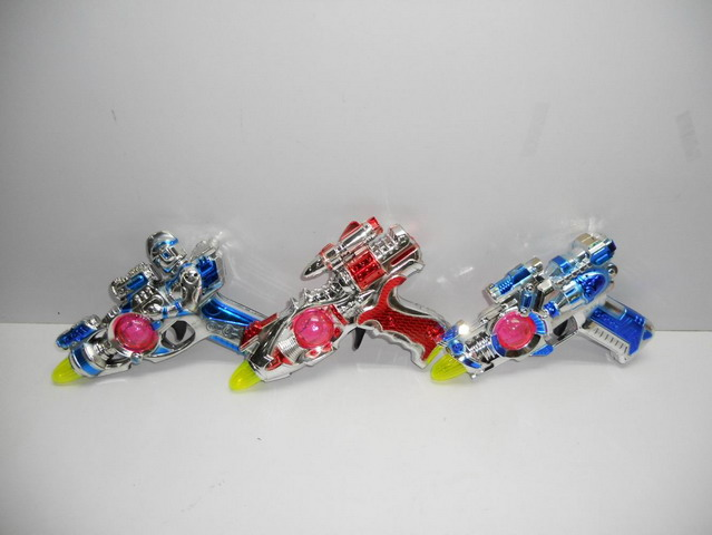 Octave Music Laser Gun Toy with Candy