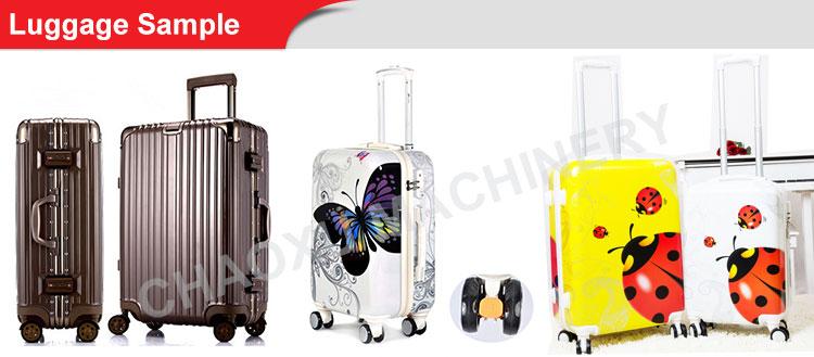 Hot Popular Auto Plastic Suit Case Luggage Vacuum Thermoforming Machine