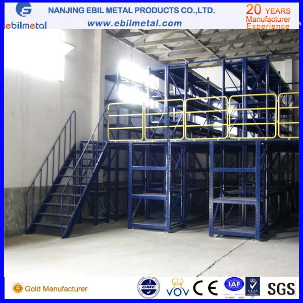 High Quality with CE/ISO Warehouse Mezzanine Rack /Multi-Level Racking
