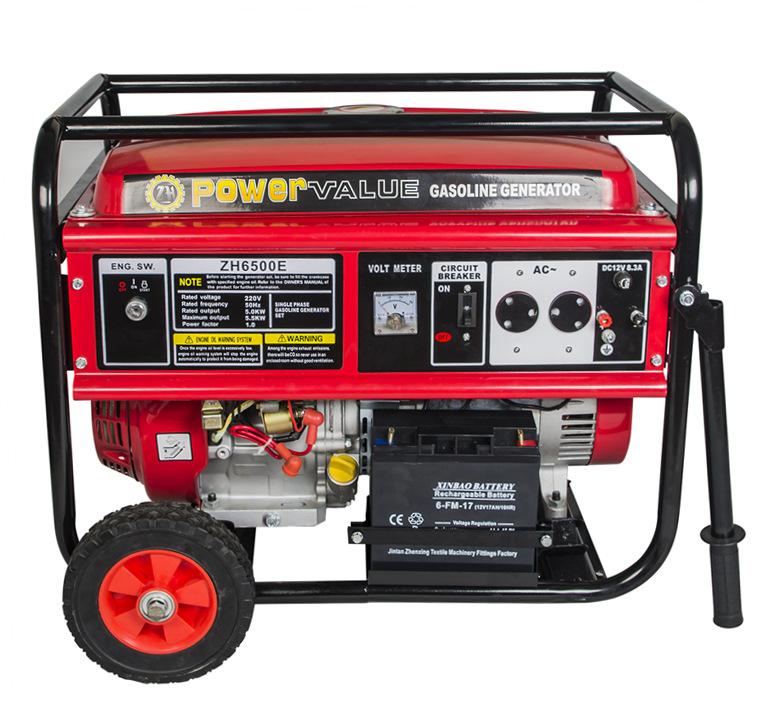 Gasoline Small Generator 5kw 3 Phase Genset Generator Small Genset