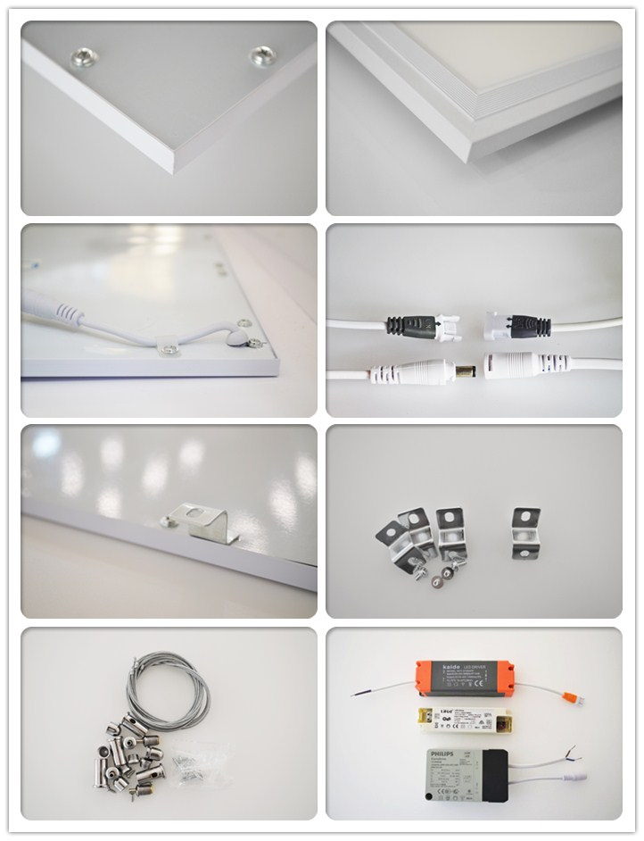 Flat Panel LED ceiling Light with 72W