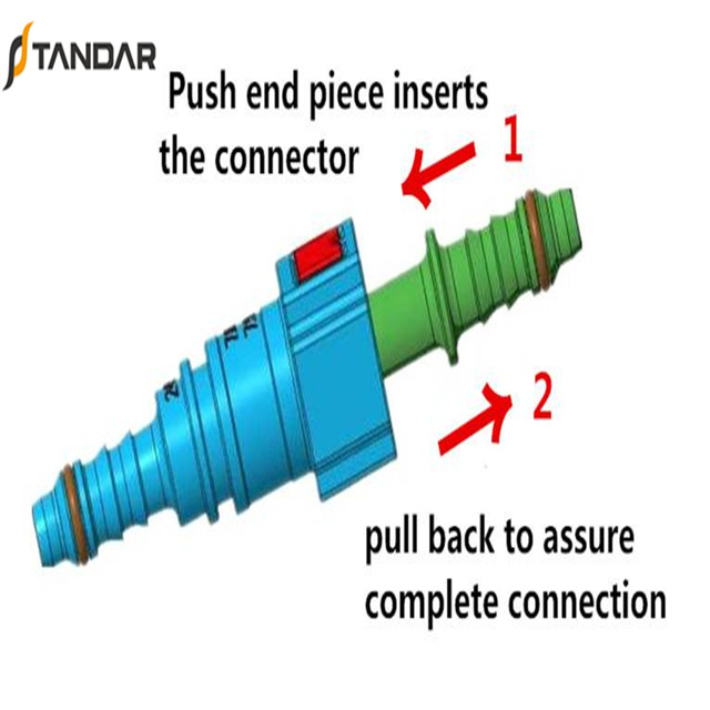 Plastic Quick Connect Fitting Used for Truck Air Brake System