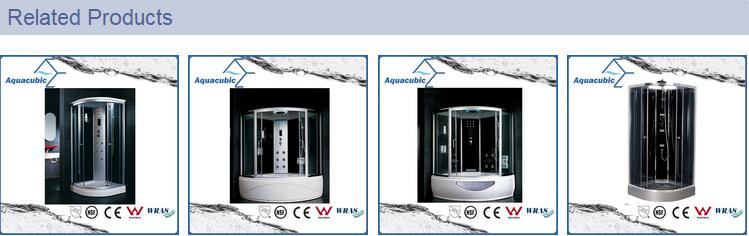 Complete Massage Tempered Glass Computerized Shower Room (AS-44)