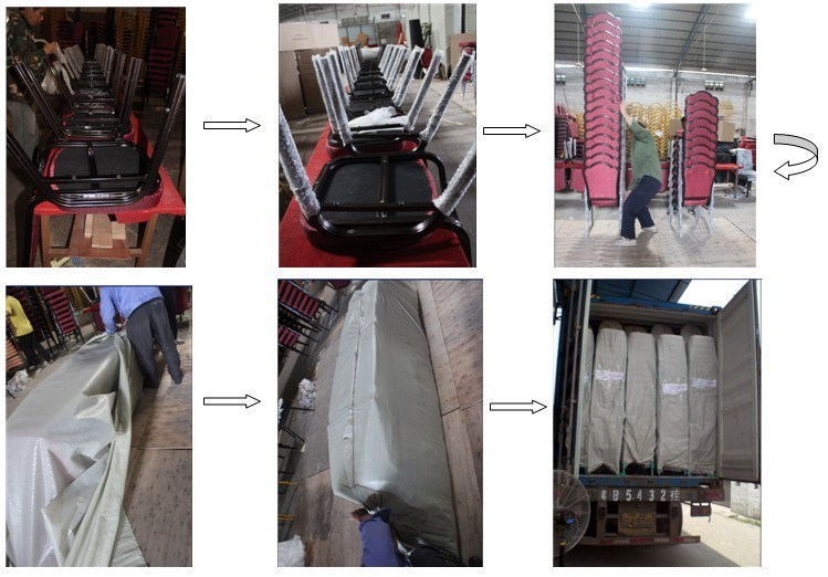 Hotel Comfortable Aluminum Chair for Banquet
