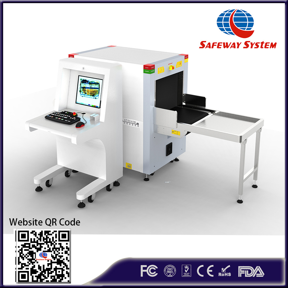 Hand Bag X-ray Security Screening Machine for Baggage Inspection in Hotel
