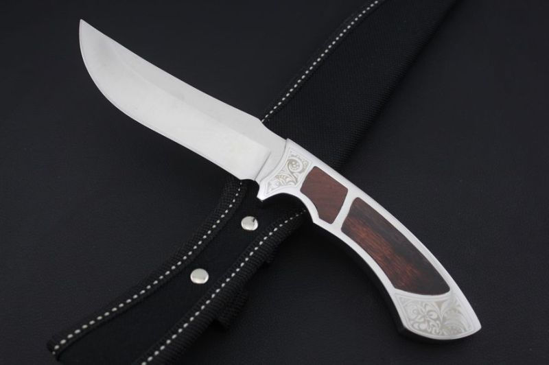 Wood Handle Fixed Knife (SE-0419)