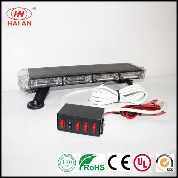 Police/Ambulance Truck Magnet Mini Strobe Light Bar Top-Selling LED Mini Light Bar Emergency Waring Light Bar