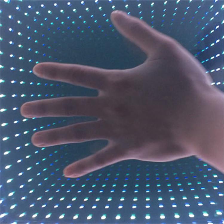 Mutual Complementation LED 3D Infinite Light up Dance Floor