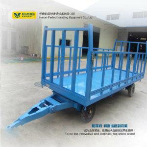 Storage Battery Die Flat Trolley Die Aluminum Transfer Cart