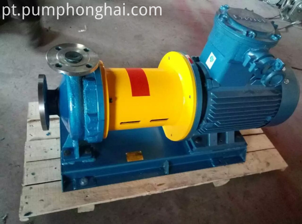 Magnetic Drive Centrifugal Oil Pump