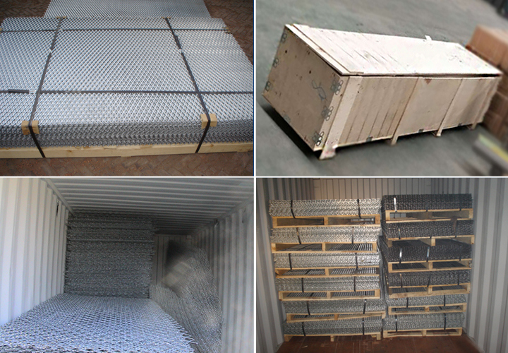 Anping Factory Decorative Aluminum Expaned Metal Filter Mesh
