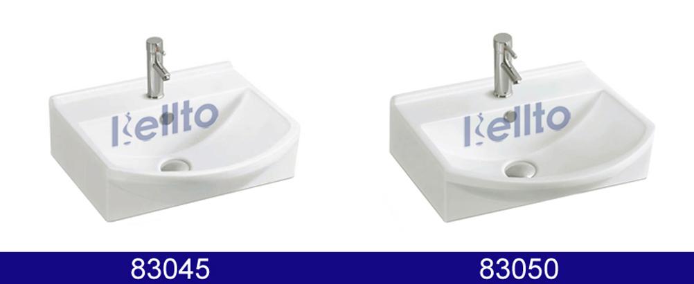 Wall Hung Cabinet Basin Wih Bathroom Faucet Hole (83045)