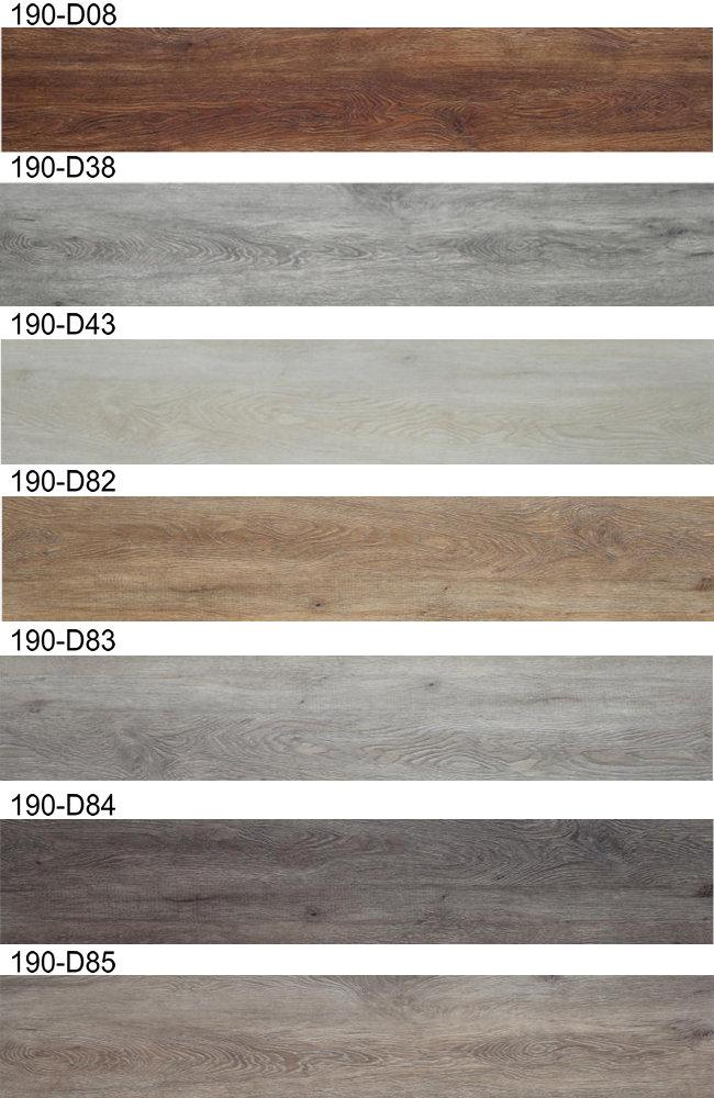 Wood Pattern PVC Luxury Dry Back Flooring Planks