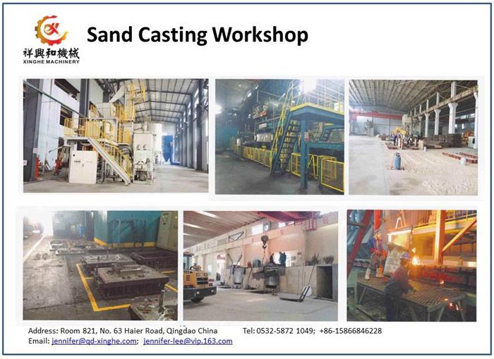 OEM Sand Castind Ductile Iron Sand Casting Aluminum Sand Casting