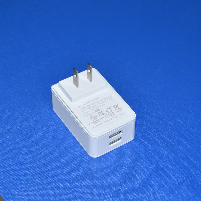 24V1a Adapter 12V2a Switching Power Supply for Router, POS, Set Top Box, LED Strips