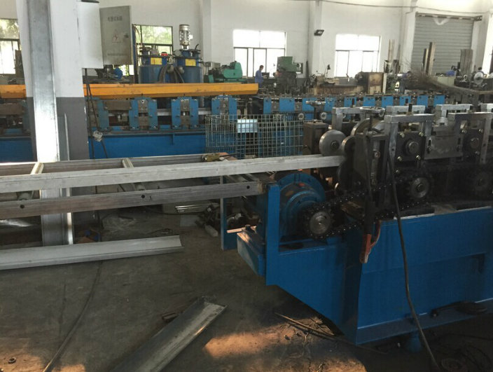 Fire Damper Blade Flange Roll Forming Machine