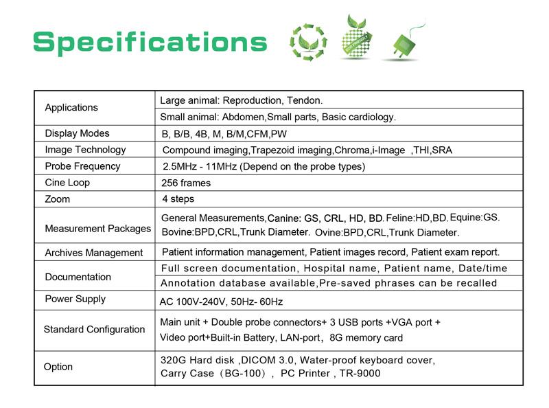 Ultrasound Color Scanner Doppler Laptop Portable (SC-ECO5)