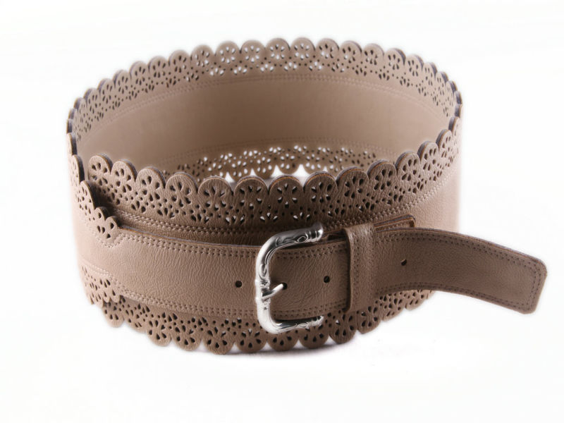 Fashion Wide Leather Corset Belts for Woman