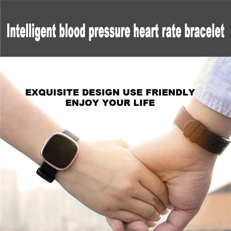 P2 Heart Rate/Blood Pressure Fitness Tracker Smart Watch Bracelet