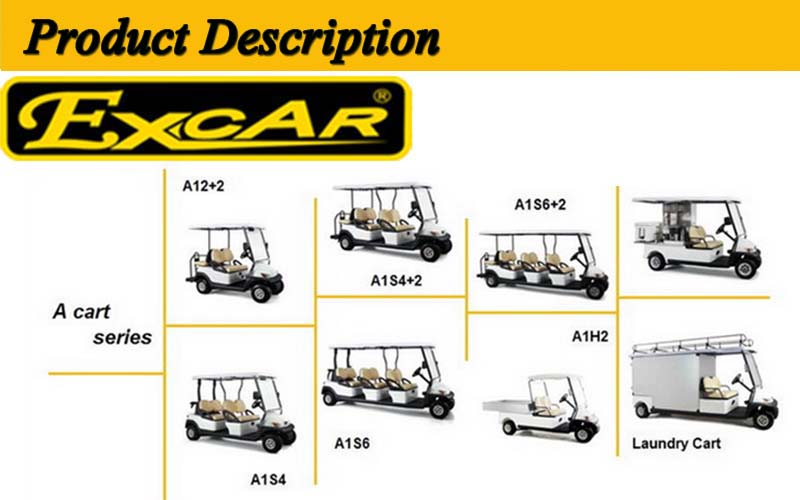 New High Quality 4 Seater Cheap Golf Buggy