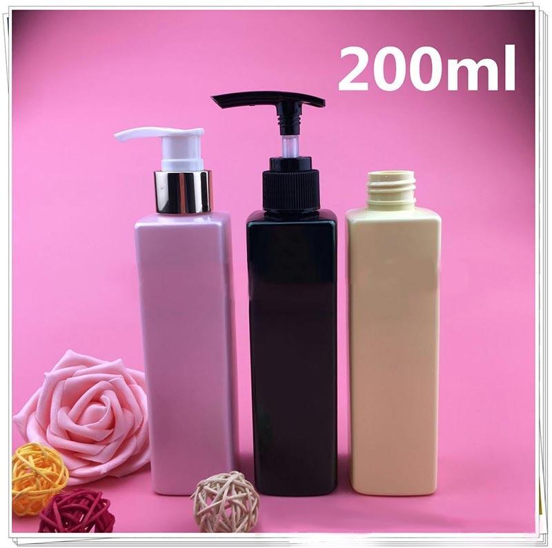 Quadrangular Plastic Lotion Bottle for Perfume (NB18901)