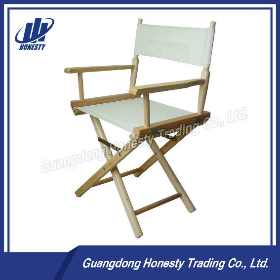 L002 Top Quality Adult Wooden Folding Director Chair with Canvas