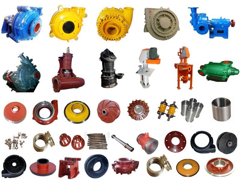 Pumping Equipment Slurry Pump with Wa Centrifugal