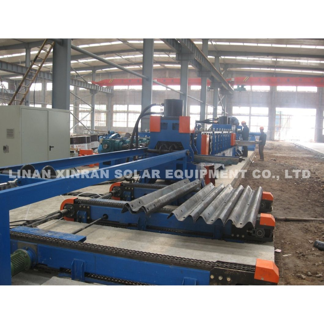 Two Waves or Three Waves Highway Guardrail Roll Forming Machine