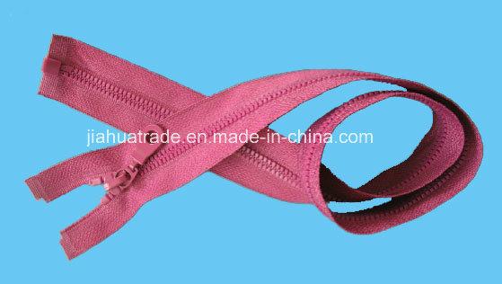 Nylon/Resin/Metal Zipper for Garment with Oeko-Tex