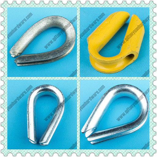 G411 Wire Rope Thimble Electric Galvanized