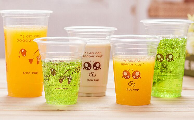 PP Disposable Plastic Cup with Customized Logo