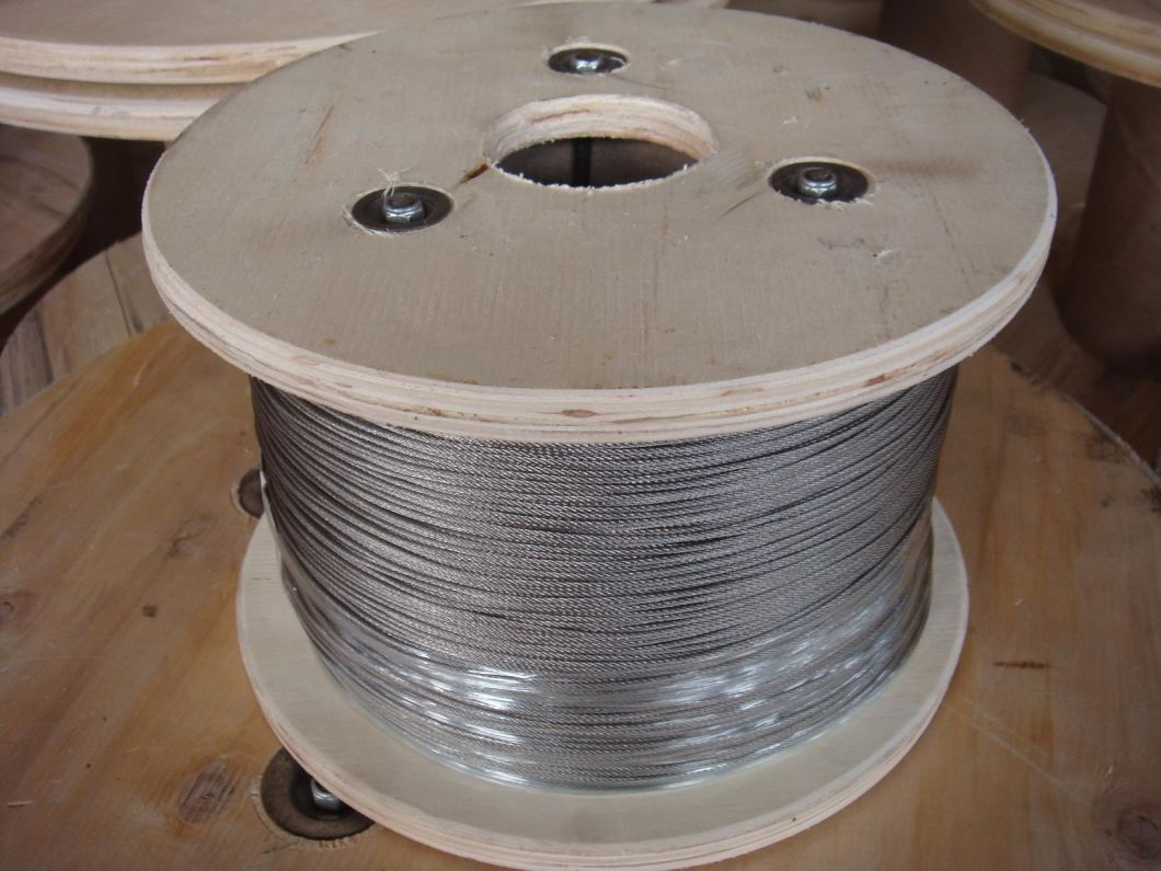Plastic Reel Packaged Steel Wire Rope for Lifting
