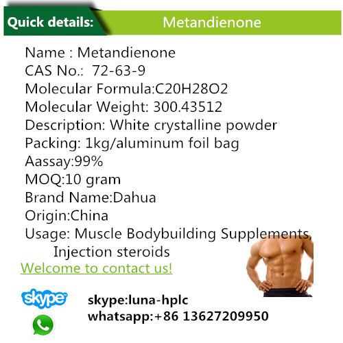 Hormone Powder Steroid Metandienone Dianabol Metandienone