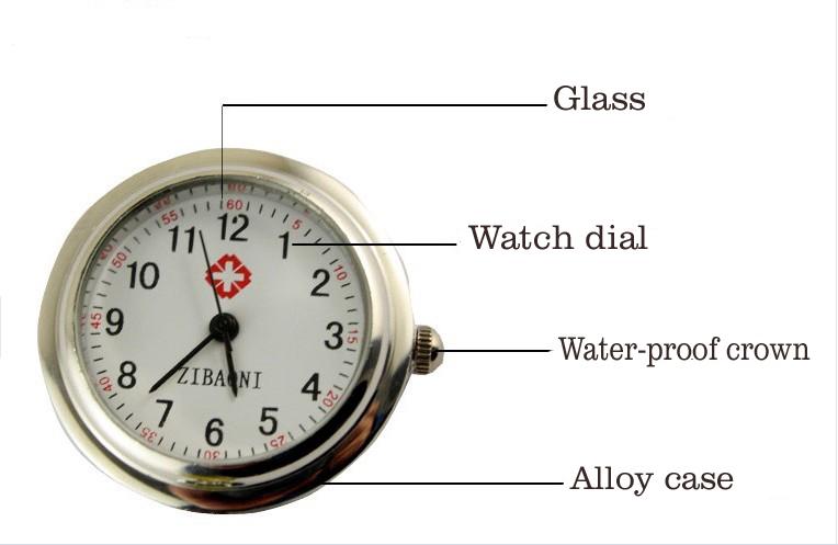 Quartz Movement 2015 New Shape Nurse Watch