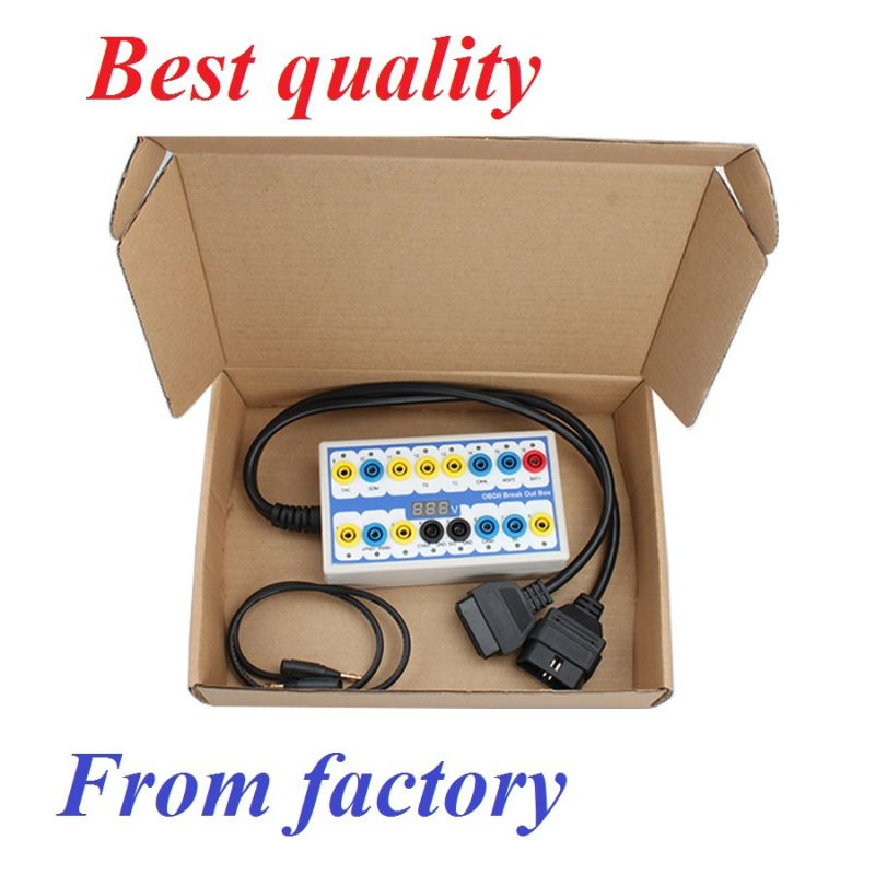 2016 Cheap Top-Rated Obdii Protocol Detector & Break out Box