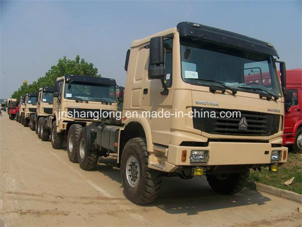 China Brand 336HP Tractor Head Truck with Awd