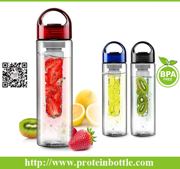 Customizable Promotional Sports Tritan Fruit Infuser Water Bottles