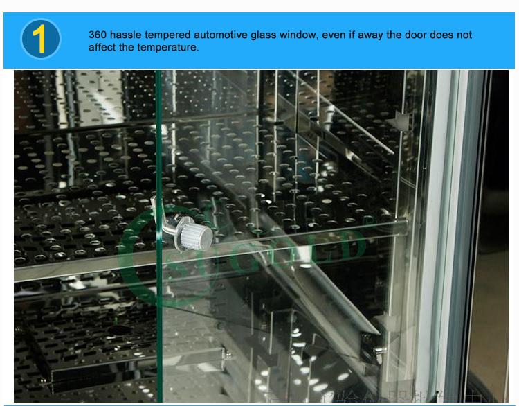 High Quality LCD display Biochemical Incubator