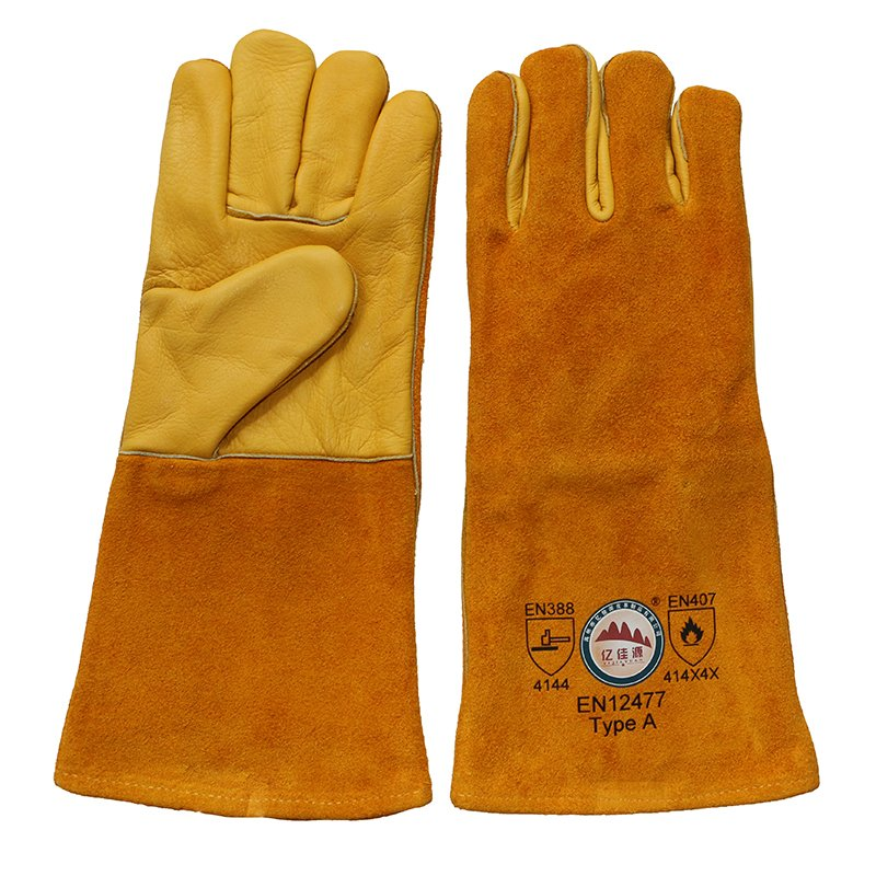 Safety Workers Welding Gloves From Gaozhou Manufacturer