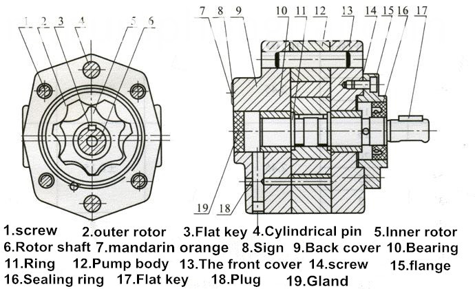 Low Pressure Gear Pump