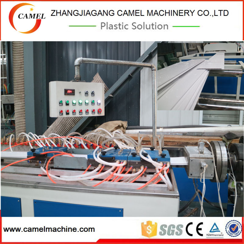 300mm PVC Ceiling Panel Production Line with Double Screw Extruder