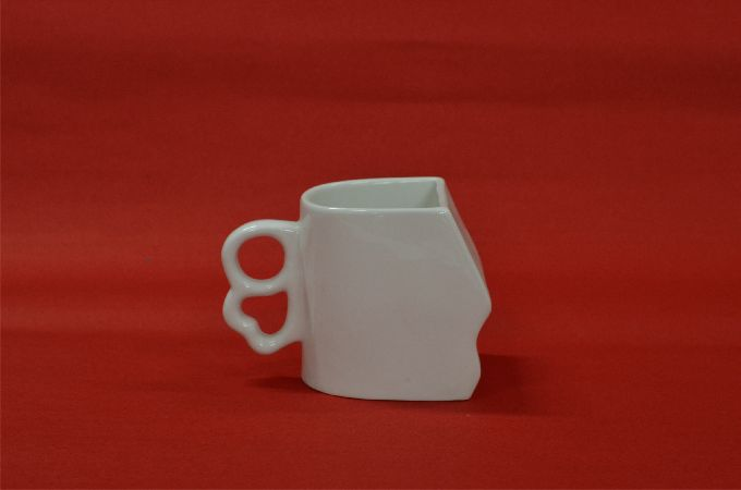 White Various Cup