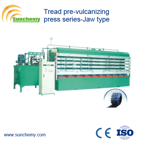 Top Qualified Rubber Jaw Type Tread Vulcanizer